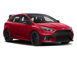 2018 Ford Focus Pictures Focus Hatchback 5D RS AWD I4 Turbo photos side front view