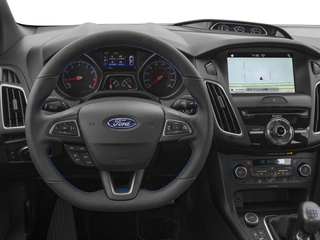 2018 Ford Focus Pictures Focus Hatchback 5D RS AWD I4 Turbo photos driver's dashboard