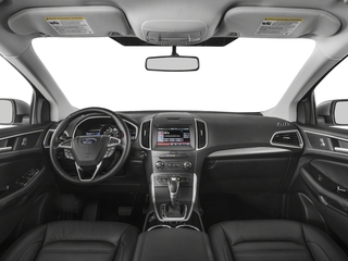 2018 Ford Edge Pictures Edge Utility 4D SEL AWD I4 Turbo photos full dashboard