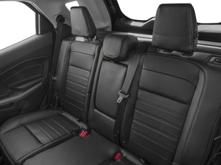 2018 Ford EcoSport Pictures EcoSport Titanium FWD photos backseat interior