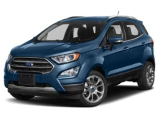 2018 Ford EcoSport Pictures EcoSport Utility 4D S AWD photos side front view