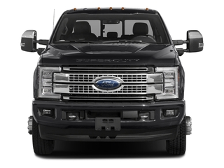 2018 Ford Super Duty F-350 DRW Pictures Super Duty F-350 DRW Platinum 4WD Crew Cab 8' Box photos front view
