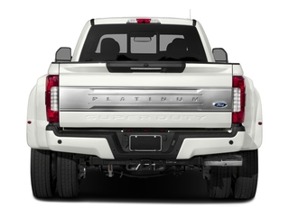 2018 Ford Super Duty F-450 DRW Pictures Super Duty F-450 DRW Platinum 2WD Crew Cab 8' Box photos rear view