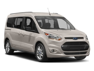 2018 Ford Transit Connect Wagon Pictures Transit Connect Wagon XLT SWB w/Rear Symmetrical Doors photos side front view