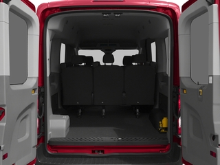 2018 Ford Transit Passenger Wagon Pictures Transit Passenger Wagon Passenger Van XL Medium Roof photos open trunk