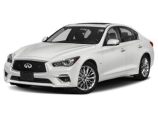 2018 INFINITI Q50 Pictures Q50 Sedan 4D 2.0T Pure AWD photos side front view