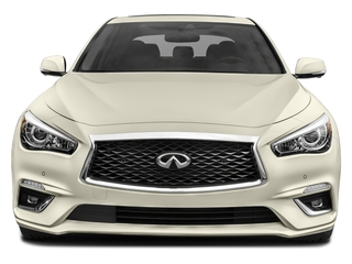 2018 INFINITI Q50 Pictures Q50 Hybrid LUXE AWD photos front view