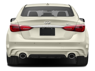 2018 INFINITI Q50 Pictures Q50 Hybrid LUXE RWD photos rear view