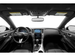 2018 INFINITI Q60 Pictures Q60 2.0t LUXE AWD photos full dashboard