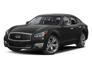 2018 INFINITI Q70 Pictures Q70 3.7 LUXE RWD photos side front view