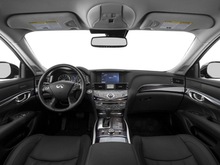 2018 INFINITI Q70 Pictures Q70 3.7 LUXE RWD photos full dashboard