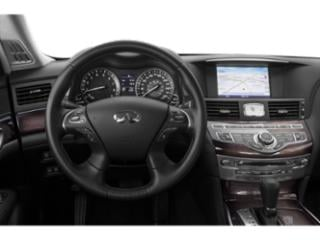 2018 INFINITI Q70 Pictures Q70 Sedan 4D AWD V6 photos driver's dashboard