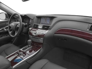 2018 INFINITI Q70 Pictures Q70 Hybrid LUXE RWD photos passenger's dashboard