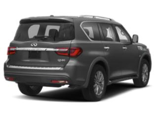 2018 INFINITI QX80 Pictures QX80 Utility 4D AWD V8 photos side rear view