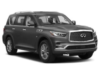 2018 INFINITI QX80 Pictures QX80 Utility 4D AWD V8 photos side front view