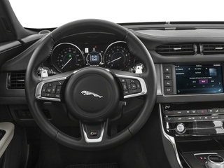 2018 Jaguar XF Pictures XF Sedan S AWD photos driver's dashboard