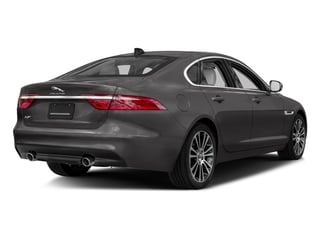 2018 Jaguar XF Pictures XF Sedan 25t Prestige AWD photos side rear view