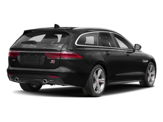 2018 Jaguar XF Pictures XF Sportbrake First Edition AWD photos side rear view