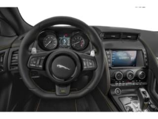 2018 Jaguar F-TYPE Pictures F-TYPE Convertible Auto 400 Sport AWD photos driver's dashboard