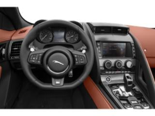 2018 Jaguar F-TYPE Pictures F-TYPE Coupe Auto 380HP photos driver's dashboard
