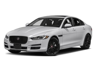 2018 Jaguar XE Pictures XE Sedan 4D 30t Prestige photos side front view