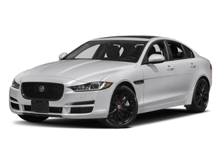 2018 Jaguar XE Pictures XE Sedan 4D 25t Prestige photos side front view