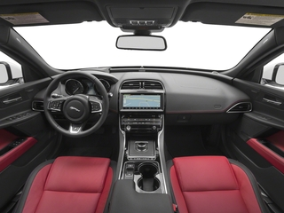 2018 Jaguar XE Pictures XE 25t R-Sport AWD photos full dashboard