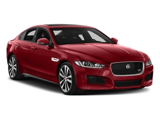 2018 Jaguar XE Pictures XE Sedan 4D S AWD photos side front view