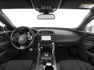 2018 Jaguar XE Pictures XE Sedan 4D S AWD photos full dashboard