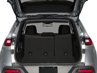 2018 Jeep Cherokee Pictures Cherokee Latitude Tech Connect FWD photos open trunk