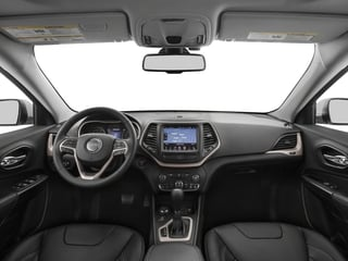2018 Jeep Cherokee Pictures Cherokee Limited FWD photos full dashboard