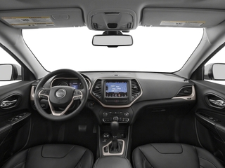 2018 Jeep Cherokee Pictures Cherokee Utility 4D Limited 2WD photos full dashboard