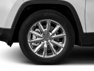 2018 Jeep Cherokee Pictures Cherokee Utility 4D Limited 2WD photos wheel