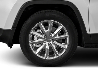 2018 Jeep Cherokee Pictures Cherokee Limited FWD photos wheel