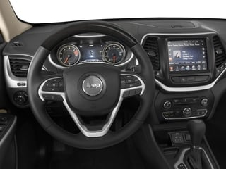 2018 Jeep Cherokee Pictures Cherokee Overland 4x4 photos driver's dashboard