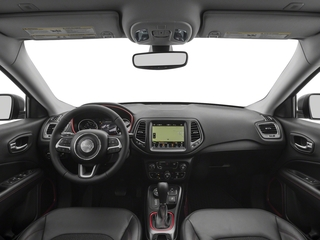 2018 Jeep Compass Pictures Compass Trailhawk 4x4 photos full dashboard