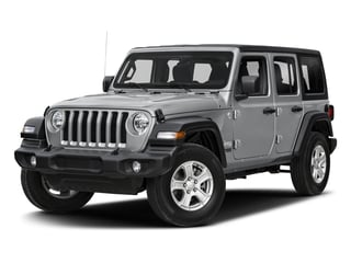 2018 Jeep Wrangler Unlimited Pictures Wrangler Unlimited Sport 4x4 photos side front view