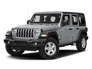 2018 Jeep Wrangler Unlimited Pictures Wrangler Unlimited Rubicon 4x4 photos side front view