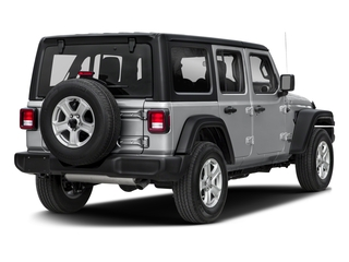 2018 Jeep Wrangler Unlimited Pictures Wrangler Unlimited Sport 4x4 photos side rear view