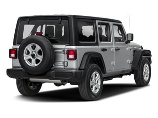 2018 Jeep Wrangler Unlimited Pictures Wrangler Unlimited Rubicon 4x4 photos side rear view