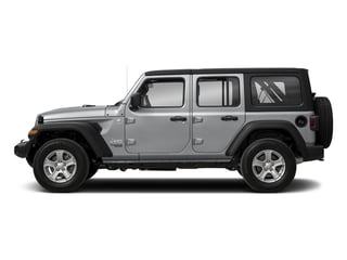 2018 Jeep Wrangler Unlimited Pictures Wrangler Unlimited Sport 4x4 photos side view