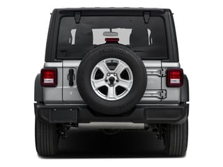 2018 Jeep Wrangler Unlimited Pictures Wrangler Unlimited Sport 4x4 photos rear view