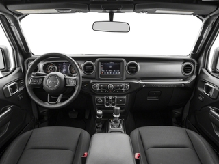 2018 Jeep Wrangler Unlimited Pictures Wrangler Unlimited Sport 4x4 photos full dashboard