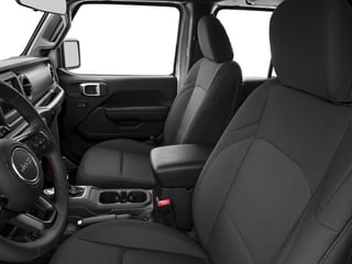 2018 Jeep Wrangler Unlimited Pictures Wrangler Unlimited Sport 4x4 photos front seat interior