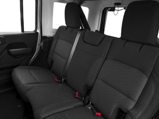 2018 Jeep Wrangler Unlimited Pictures Wrangler Unlimited Rubicon 4x4 photos backseat interior