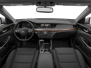 2018 Kia Cadenza Pictures Cadenza Premium Sedan photos full dashboard