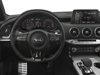 2018 Kia Stinger Pictures Stinger Base RWD photos driver's dashboard