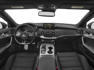 2018 Kia Stinger Pictures Stinger GT1 RWD photos full dashboard