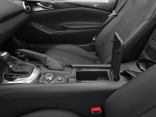 2018 Mazda MX-5 Miata Pictures MX-5 Miata Grand Touring Manual photos center storage console