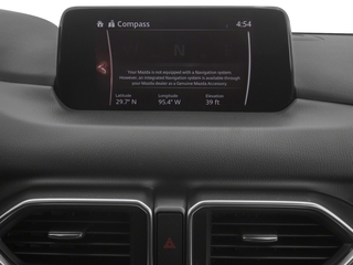 2018 Mazda CX-5 Pictures CX-5 Sport FWD photos navigation system